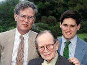 Tim Hutchens '60, John K. Hutchens '26 and John McCormick '92