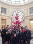 Students in Hamilton's Junior Year in France program visit Paris