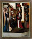 <em>Four Figure Composition</em> by Wyndham Lewis