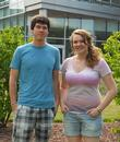 William Rusche '13 and Andrea Wrobel '13.