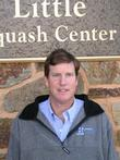 Head squash coach Jamie King