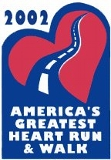 Poster for America's Greatest Heart Run and Walk
