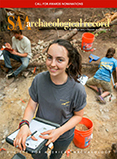The SAA Archaeological Record Cover - Sept. 2015