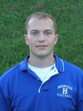 Assistant football coach Matt Wright