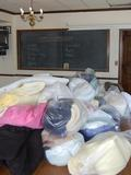 Blankets and bedding are just some of the many items collected for Cram & Scram.