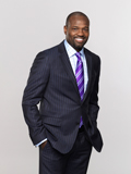 Broadcaster and former MLB All-Star Harold Reynolds