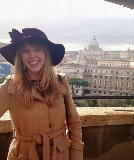 Shannon Boley '17 in Rome.