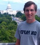Scott Blosser '12 is studying federalism with Professor of History Doug Ambrose.