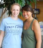 Claire Zurlo '14 and Amanda Ng '14