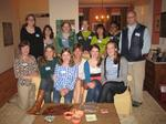 Hamilton's Burgaw, N.C., ASB group with Mary McLean Evans '82, Dorothy Murray Belshaw '87 and Dan Lascell '92.