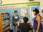 Katherine De Jesus works with children in Brooklyn.