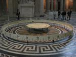 Foucault's Pendulum in the Panthéon, Paris.