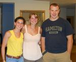 Diane Paverman '13, Spencer Gulbronson '12, Matthew Farrington '12.