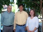 Research Corporation grant collaborators Alistair Campbell, Wei-Jen Chang and Natalia Connolly.