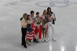 Ice dancing medalists
