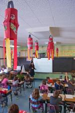 Clinton Central is among local schools where Chinese is taught to elementary-age students.