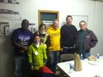 Some Hamilton employees volunteered at Johnson Park Center on MLK Day..