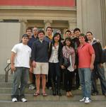 Hamilton students in the NYC Program at the Metropolitan Museum of Art.