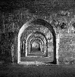 The interior of Fort Morgan. © William Earle Williams.