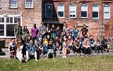 Arts students, along with Professors Knight and Fine, visited MASS MoCA and the Williams College Art Museum on April 17.