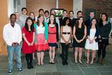 Members of the Class of 2013 who were initiated to associate membership in Sigma Xi.