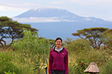 Abby Martin '14 in Kenya.