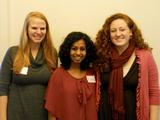 COOP Senior Fellows Amy Soenksen, Ramya Ramnath and Danielle Lashley.