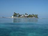 The Smithsonian Institution's marine research laboratory on Carrie Bow Cay, Belize.