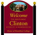 Village of Clinton Sign