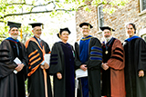 Professors Dave Bailey, Ernest Williams, Barbara Gold, John Eldevik, Jonathan Vaughan and Brent Plate.