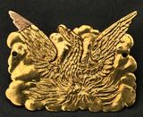 Gold Badge of the Phoenix Society of Hamilton College, ca. 1826