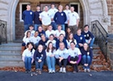Members of Hamilton's 2009-10 student EMS team.