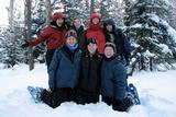 Participants in HOC's winter camping seminar.