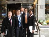 (L-R) Paul Englehardt, Garvin Sean Kiernan, Adam Vorchheimer, Andrew Rogan and Fallon Chipidza
