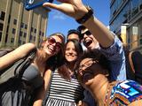 Hamilton students enjoy New York City.