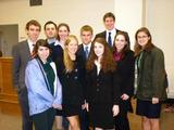 Opening Round Championship Series Mock Trial Team