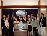 Washington Program students visit the Pentagon.