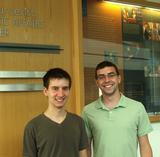 Peter Adelfio '13 and Benjamin Anderson '14.