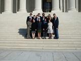 Program in Washington students at the Supreme Court.