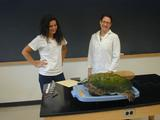 Kelly Fitzsimmons '10 and Visiting Assistant Professor of Biology Ashleigh Smythe