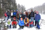 Members of Ernest Williams' Cultural and Natural Histories of the Adirondack Park class.