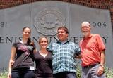 Chandra Thompson '10, Grace Stadnyk '10, Luke Maher '11 and Professor Richard Bedient.