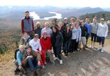 Members of the Biology 237 class with Prof. Bill Pfitsch on Whiteface Mountain.