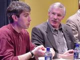 David Gaynes '99 and Stephen Knapp '69 discuss careers in the arts.