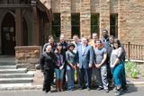 N.Y. Assemblyman Ken Blankenbush visited Hamilton on May 16 and met with students.