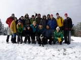 The Adventure Writing 111 class on Blue Mountain.