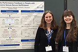 Professor Jen Borton and Katherine Delesalle '14 presented at the 2016 SPSP conference in San Diego.