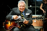 Legendary guitarist Bucky Pizzarelli.
