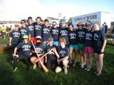 The 2011 Marathon Canoe Racing Team at the Adirondack Canoe Classic.