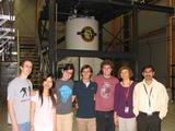 Hamilton students and faculty at the National High Magnetic Field Laboratory.